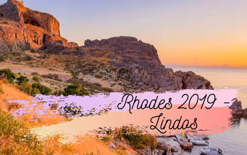 Tip time! Rhodes 2019 – Lindos town
